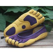 Women's five-finger shoes leather climbing shoes running sneakers