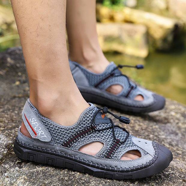 Men's shoes outdoor hiking shoes  beach sandals summer  casual shoes non-slip climbing