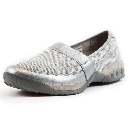Women's Slip On Mesh Sparkle Casual Shoe