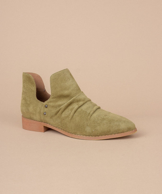Women's  Suede Ankle Bootie