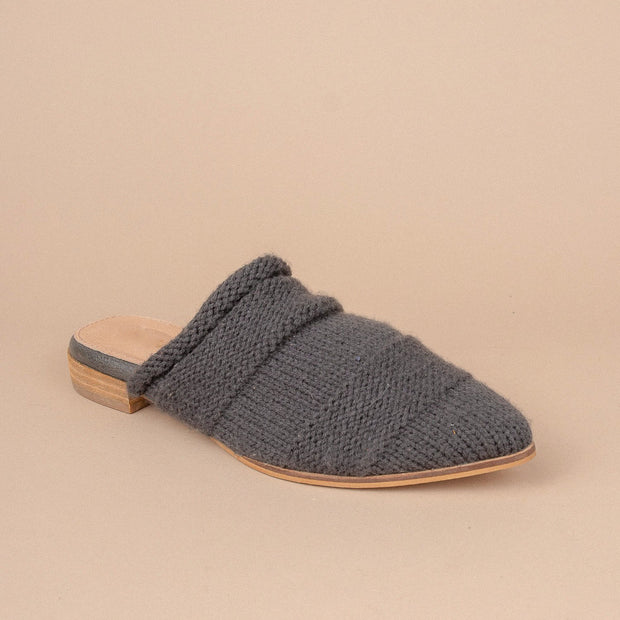 Women's  Sweater Knitted Mules