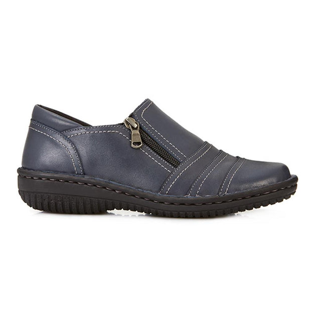 Women's Leather Slip On Shoe