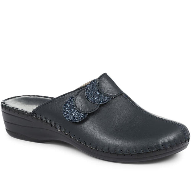 Women's Leather Clog