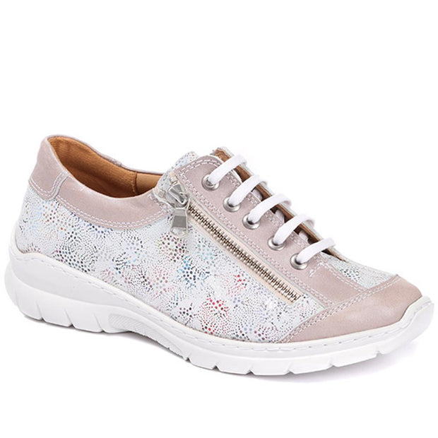 Women's Handmade Casual Leather Lace-Up
