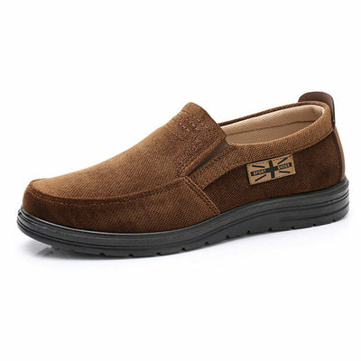 Men's  Cloth Comfort Soft Slip On Casual Shoes