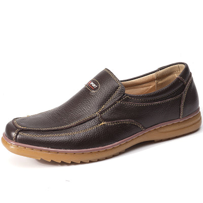 Men's Cow Leather Non Slip Soft Casual Shoes
