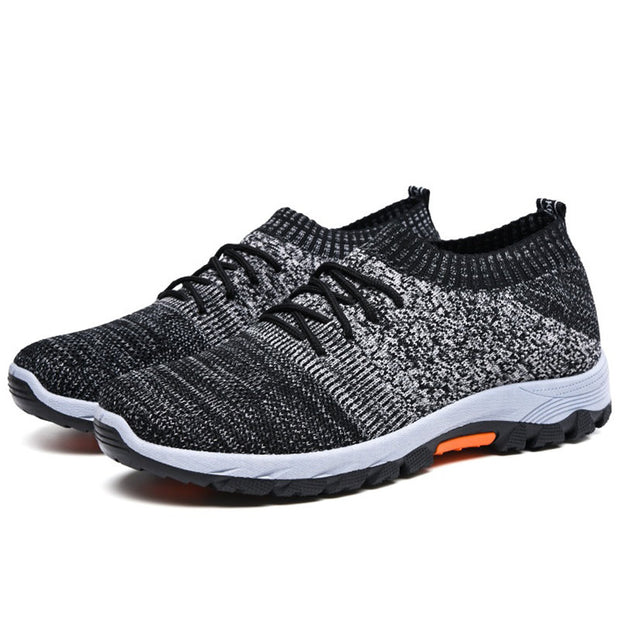 Men's Flyknit Breathable Non Slip Sport Casual Running Shoes