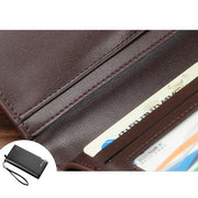 Multi-functional Business Casual Long Wallet Clutch Bag For Men