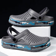 Men's EVA Hole Breathable Light Weight Beach Slippers Casual Sandals