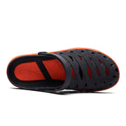 Men's EVA Hollow Out Adjustabler Heel Strap Casual Beach Sandals