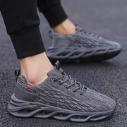 Men's new mesh flying woven breathable blade shoes