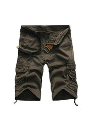 Cool Design Men Cargo Shorts  Waist Street Style
