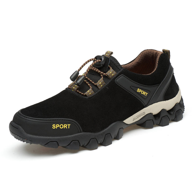 Men's Leather Outdoor Hiking Shoes