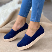 Women's Comfy Slip-On Flat Shoes Loafer