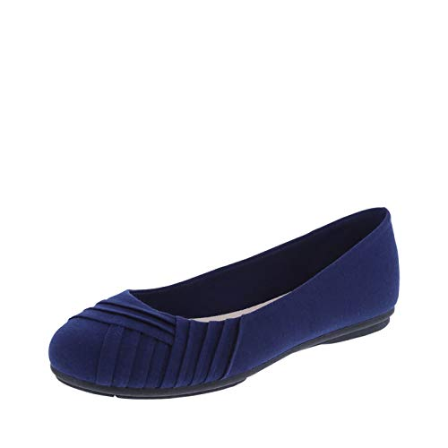 Women Comfortable Pleated Casual Flat Slip-On Flat Shoes