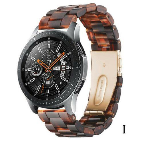 Quick Release Resin Watch Band Strap For Samsung Galaxy Watch S3/S2 42mm/46mm/Gear S3/S2/Active