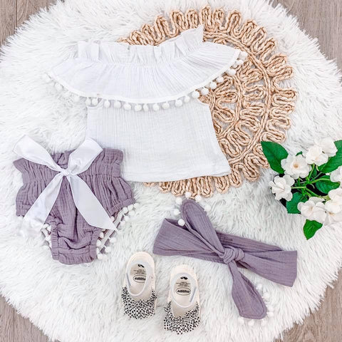 Lilac Baby Set