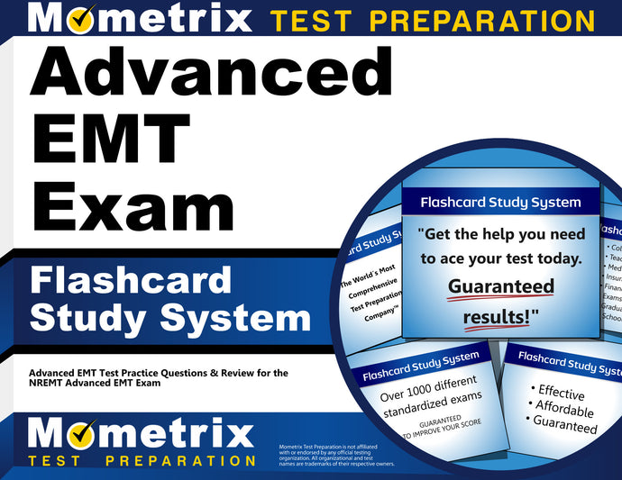 Advanced EMT Exam Flashcard Study System