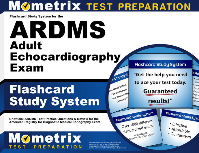 Flashcard Study System for the ARDMS Adult Echocardiography Exam