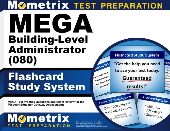 MEGA Building-Level Administrator (080) Flashcard Study System