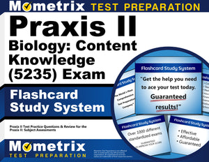 Praxis II Biology: Content Knowledge (5235) Exam Flashcard Study System