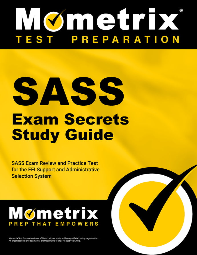 SASS Exam Secrets Study Guide