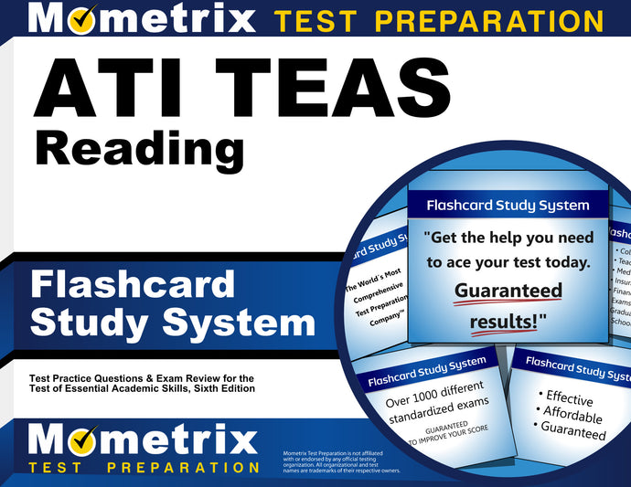 ATI TEAS Reading Flashcard Study System