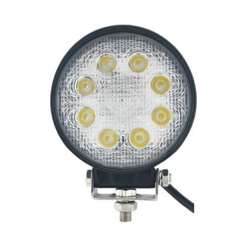 "MAX POWER 4"" ROUND SPOT LIGHT; 27 WATTS"
