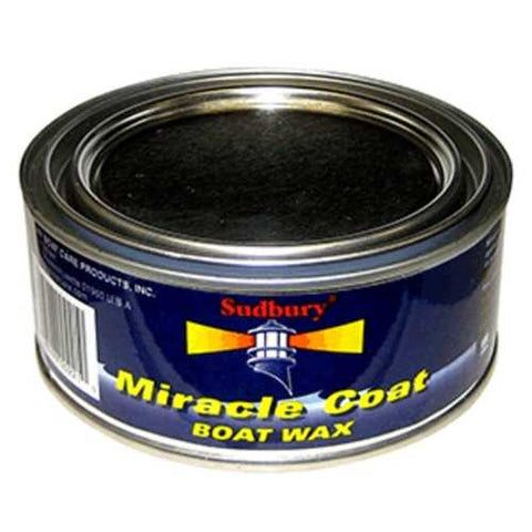 Sudbury Miracle Coat Boat Wax - 11oz Paste