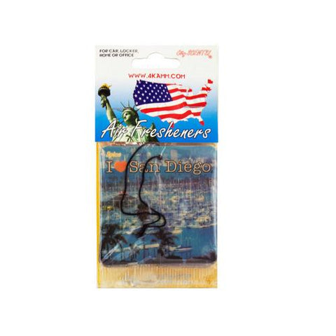 San Diego Air Freshener ( Case of 80 )