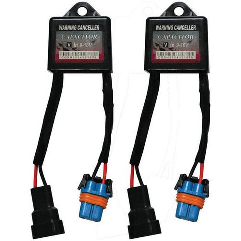 HID Capacitor 9-16V  *yellow and blue* SOLD AS PAIR