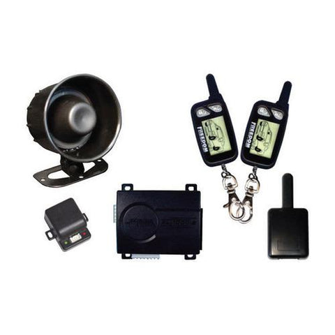 CAR ALARM K9 WITH (2)2-WAY LCD REMOTES (Replacement remote-65101)