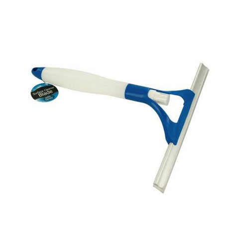 Window Squeegee with Built-In Spray Bottle ( Case of 4 )
