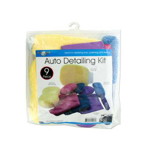 Microfiber Auto Wash & Detailing Kit ( Case of 4 )