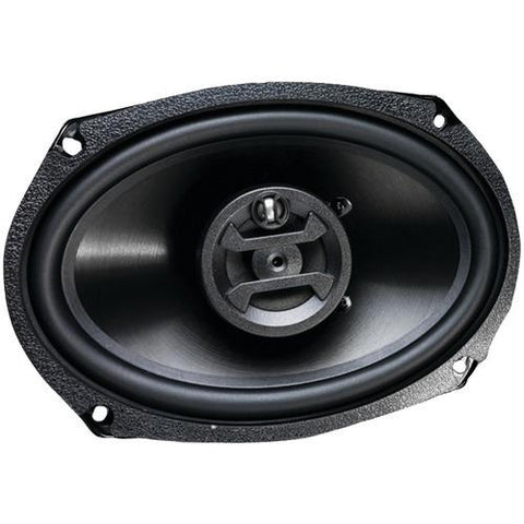 "Hifonics Zeus Series Coaxial 4ohm Speakers (6"" X 9"", 3 Way, 400 Watts Max) (pack of 1 Ea)"