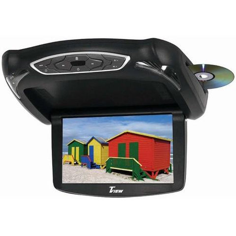 "Tview 13.3"" Widescreen Flip Down Monitor DVD Player 3 Skins"