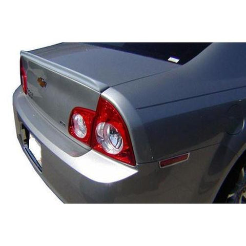 Painted 2008-2012 Chevrolet Malibu Spoiler Lip Style Wing