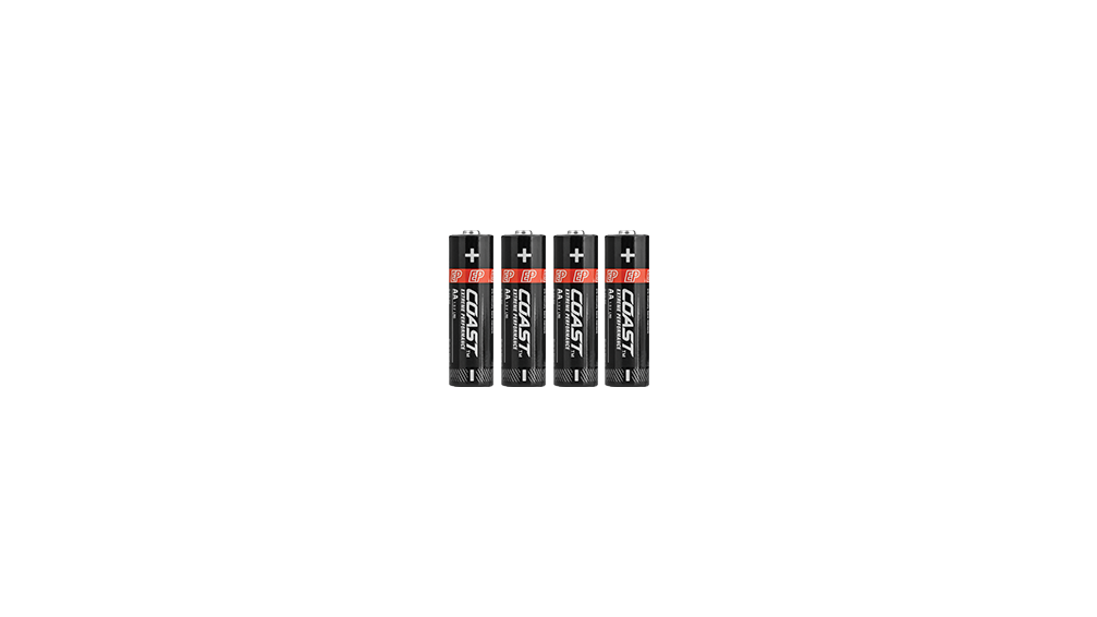 Extreme Performance Alkaline AA Batteries 4-Pack