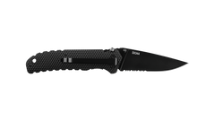 COAST DX344 3.5 Inch Stainless Steel Blade Double Locking Folding Knife with Nylon Handle, pocket clip photo