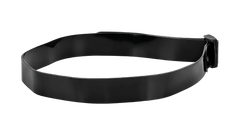 A COAST FL silicone headband with no headlamp attached, angled photo.