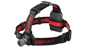 COAST HL40 300 Lumen LED Headlamp, front photo