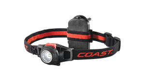 COAST HL7 305 Lumen LED Headlamp, front photo