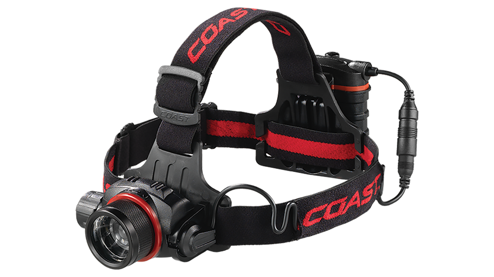 COAST HL8 615 Lumen LED Headlamp, front photo