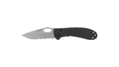 COAST LX320 3.25 Inch Stainless Steel Blade Folding Knife with Nylon Handle, side photo