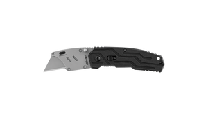 COAST MX200 1.2 Inch Stainless Steel Blade Folding Utility Knife with Nylon Handle, side photo
