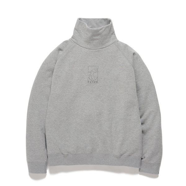 FUTUR x Loopwheeler / Heather Grey