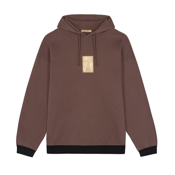 01 Gold G Fit Hoodie / Mocca