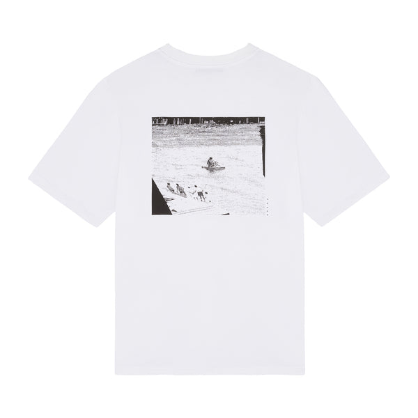 MW G Fit Jet Tee / White