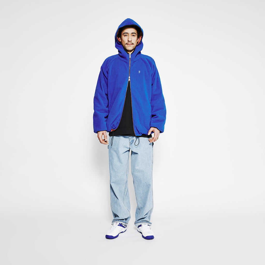 Buya Reversible Jacket / Ocean Blue