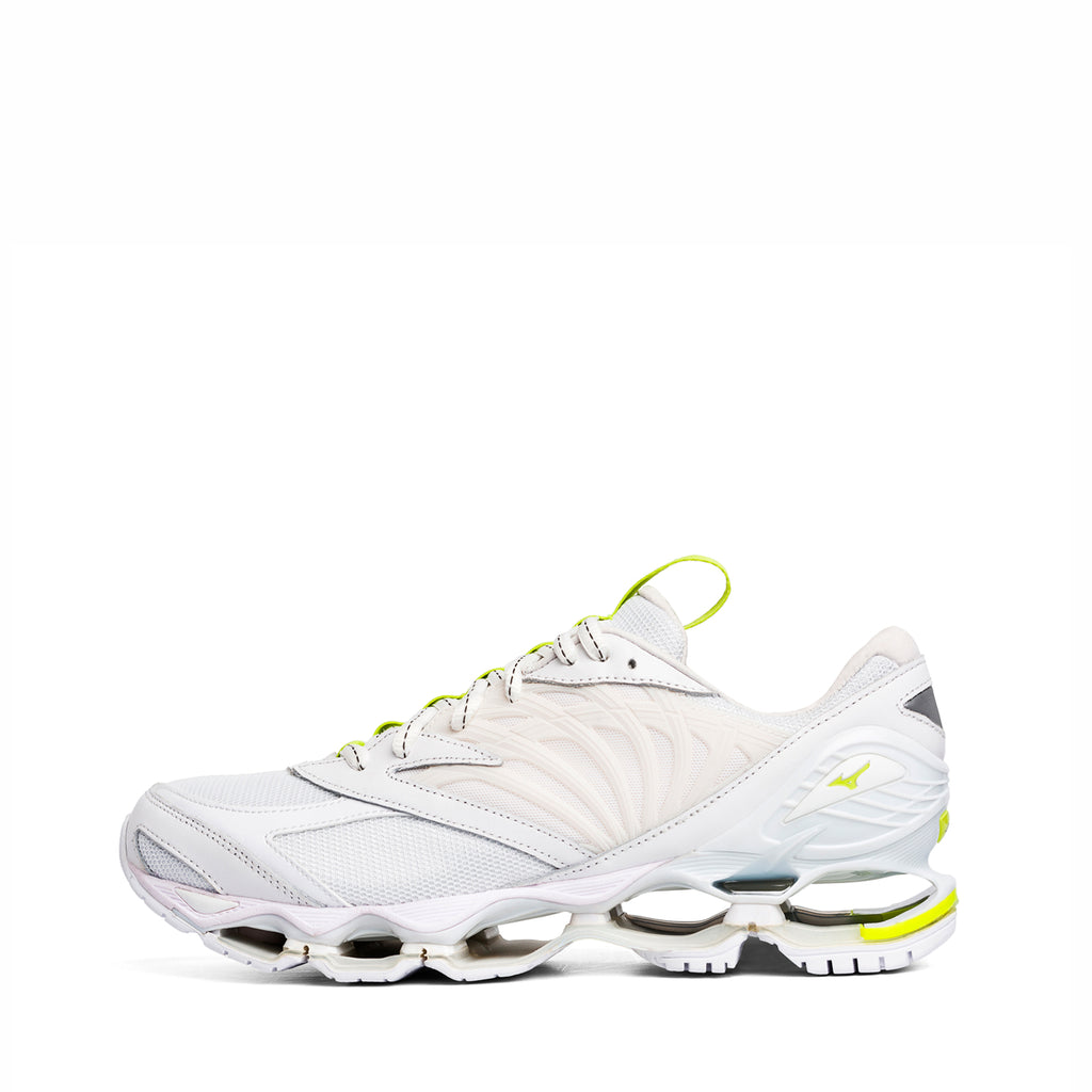 FUTUR x Mizuno Wave Prophecy / White Safety Yellow